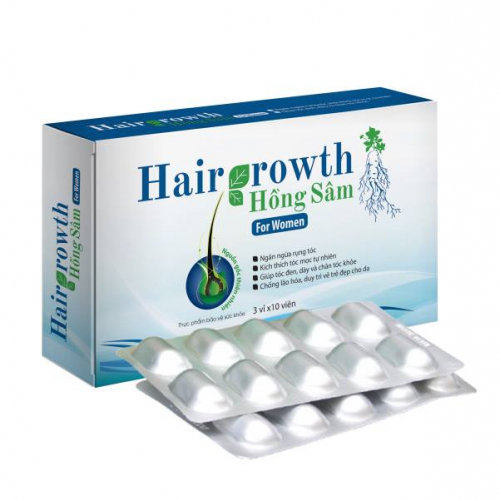 Hairgrowth hồng sâm for women