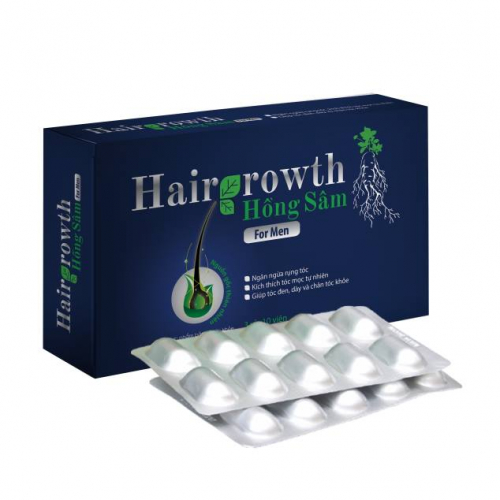 Hairgrowth hồng sâm for men